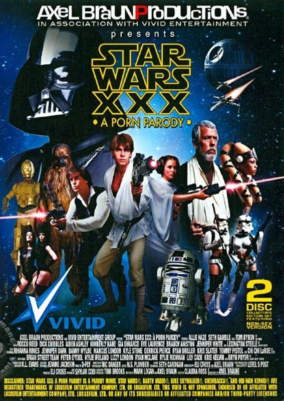 Star Wars XXX - A Porn Parody (Disc 1)  Image